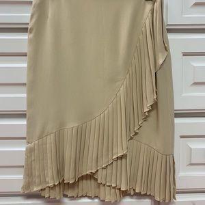 Carolina Herrera silk skirt
